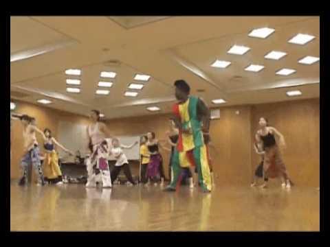 Senegalese Dance Workshop with Ziggi Mabeye Diagne