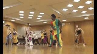 Senegalese Dance Workshop with Ziggi Mabeye Diagne