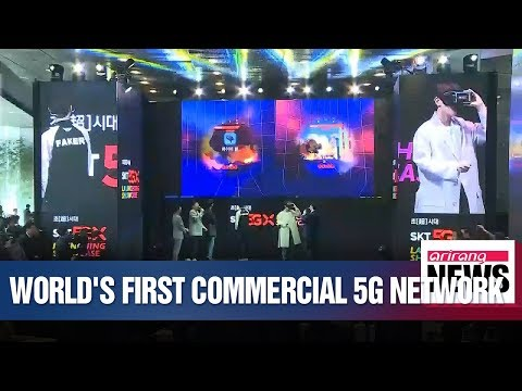 South Korean mobile carriers launch consumer 5G network