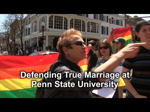 Defending True Marriage at Penn State University