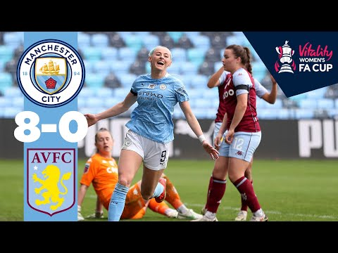 Kelly Hat-trek |  Man City Aston Villa 8-0 |  Cuarta ronda de la Copa FA