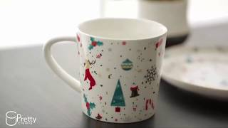 Lucky Merry Christmas Cup | Ceramic Cup | Coffee Cup | Unique mug