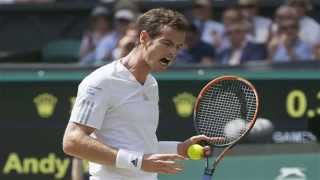 Andy Murray defeated by Bulgarian Grigor Dimitrov