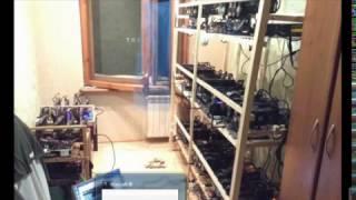 Ферма для майнинга криптовалют. Заработок в интернете на видеокартах.