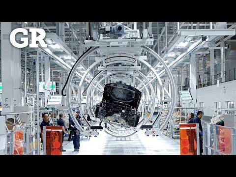 Los robots de la planta de BMW en SLP