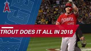 Mike Trout has another outstanding season in 2018