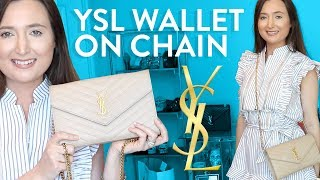 NEW HANDBAG | YSL wallet on chain review, what fits inside, how to style