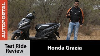 Honda Grazia - Test Ride Review - Autoportal