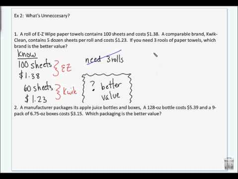 Problem Solving - Liberal Arts Math - Chapter 1 Section 3 - May 8 2012.wmv
