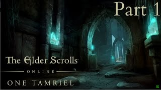 The Elder Scrolls Online Tamriel Unlimited |PS4| Walkthrough Gameplay [Part 1] | No Commentary |