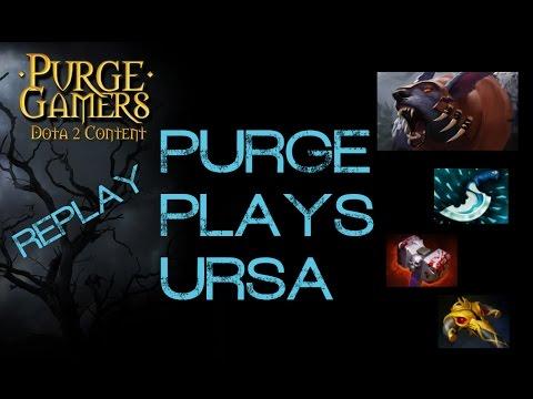Dota 2 Purge plays Ursa
