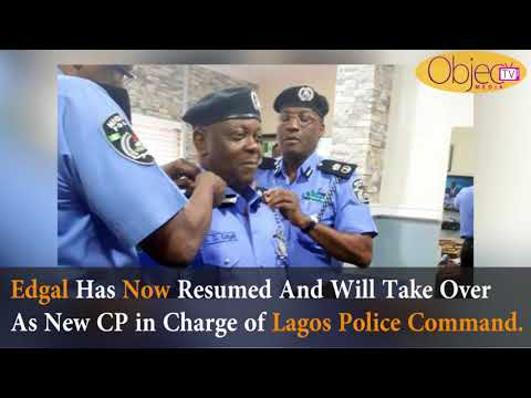 Lagos New Police Commissioner, Edgal Imohinmi Resumes Office As Fatai Owoseni Is Redeployed
