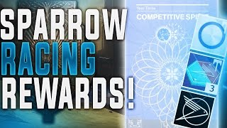 Destiny Sparrow Racing. NEW REWARDS AND LOOT! SRL Year 3 Competitive Spirit Record Book!