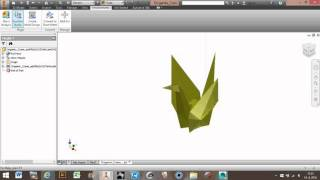 convert stl mesh to solid file in autodesk inventor