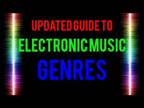 Guide to Electronic Music Genres