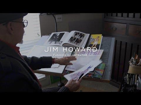 Jim Howard, Fashion Illustrator