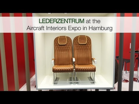 Aircraft Interiors Expo in Hamburg