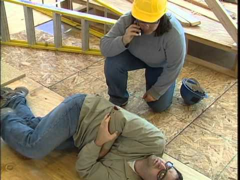 first aid in construction youtube