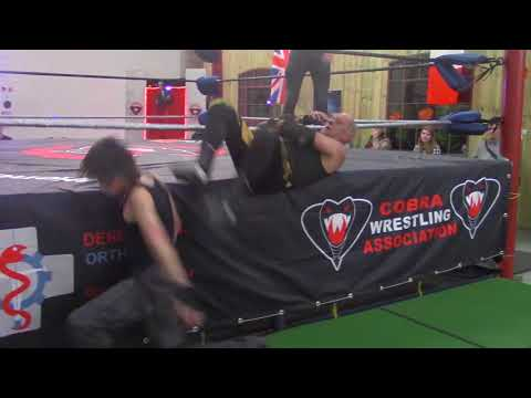 CWA Halloween show 2017: Black Cobra vs Andy Hunt highlights