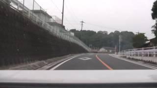 ドライブ動画 福岡県田川郡赤村~田川郡添田町~朝倉郡東峰村へ 2008/11/03 #1