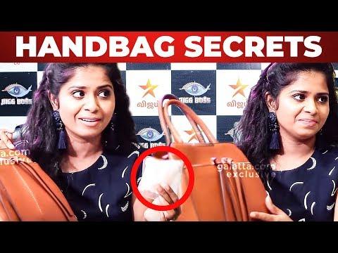 'Toilet Paper is IMPORTANT' - Actress Madhumitha Handbag | What's Inside the HANDBAG