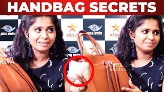 """Toilet Paper is IMPORTANT"" - Actress Madhumitha Handbag 