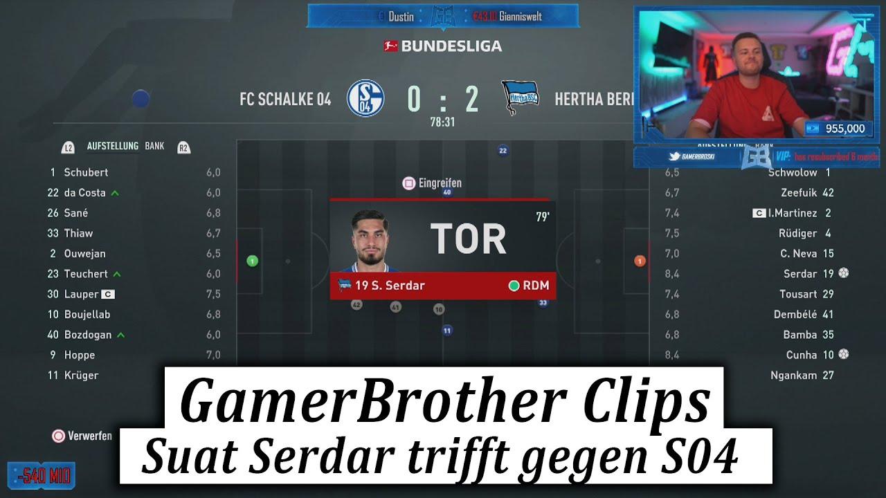 SUAT SERDAR trifft gegen RÜDIGER RAMMEL 😂🤣   GamerBrother Clips