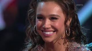 "HD Alexis Ren and Alan ""Salsa"" - DWTS Week 2 Night 2 