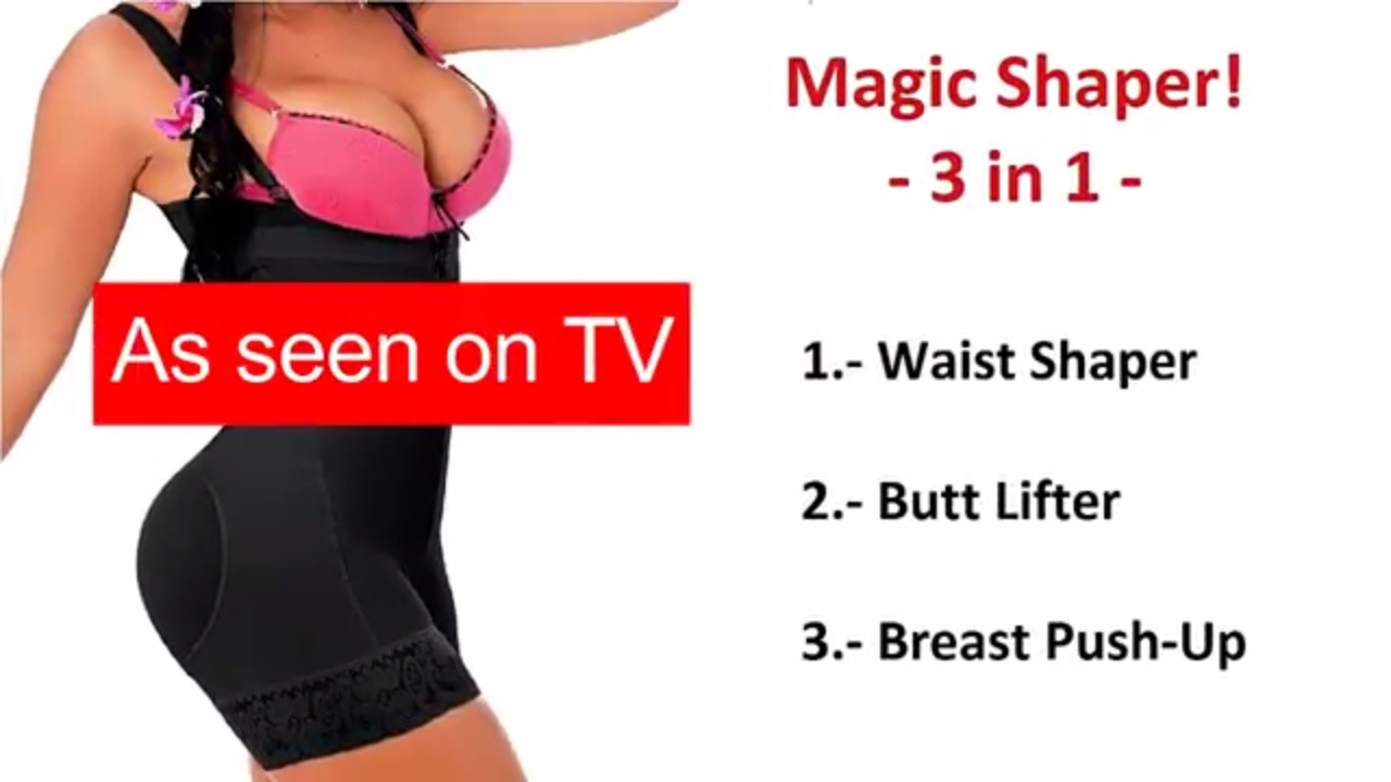 01c4be8ab316d Magic Shaper Bodysuit - YouTube