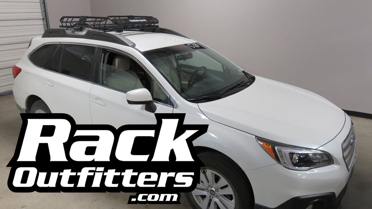 Subaru Outback Wagon with Rhino Rack XTray Roof Rack