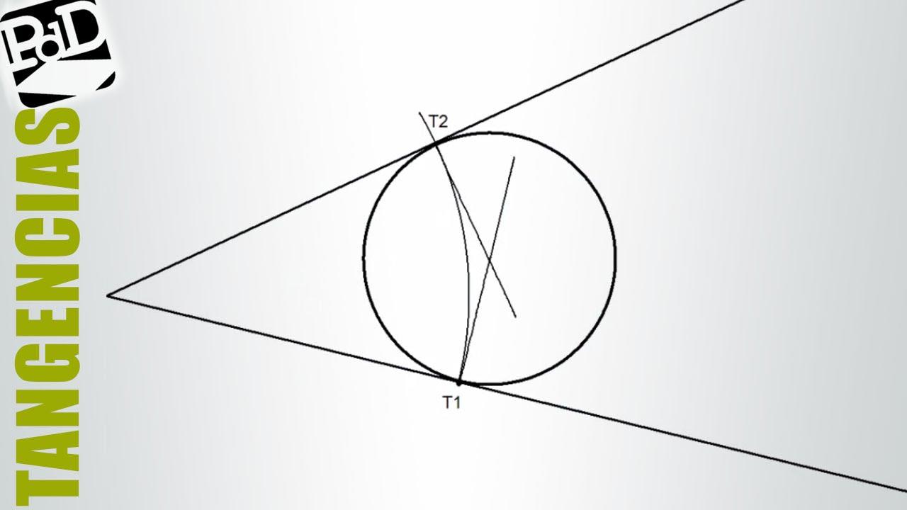 Circunferencia Tangente A Los Lados De Un Angulo Dado Un Punto De