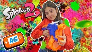Juego Batallas Online en Splatoon 2 - Karla Art