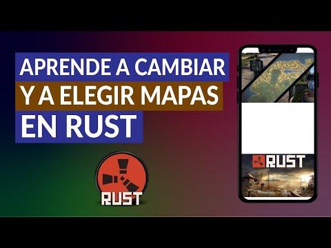 Cómo usar el mapa en Rust - Aprende a Cambiar y a Elegir Mapas