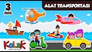 Lagu Anak Indonesia | Alat Transportasi | TK dan PAUD