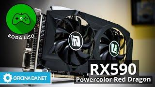 Review RX 590 Powercolor: Performance boa em 2019?