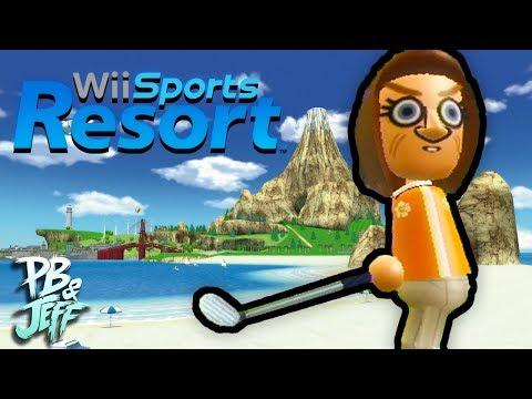 Wii Sports Resort - Part 2: SUPER DUPER DUPER GOLF!