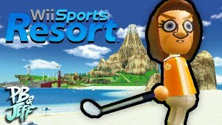 Wii Sports Resort - Part 2: SUPER DUPER DUPER GOLF!