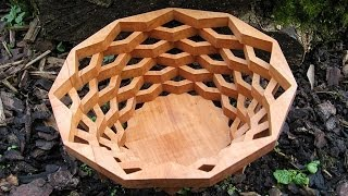 Make A Bowl (basket) With The Scroll Saw