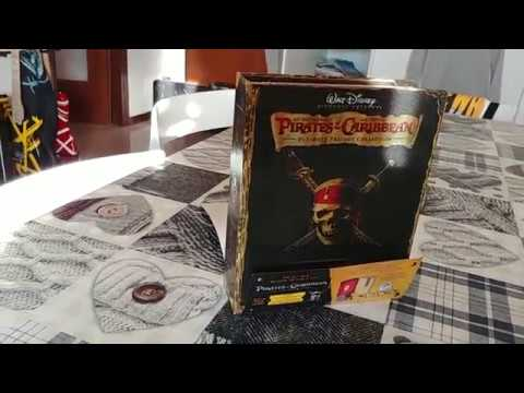 Pirates of the Caribbean Ultimate Trilogy Collection Disney-Best Buy Exclusive-  Unboxing
