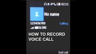 How to Record Voice Call in your MICROSOFT NOKIA DUAL SIM KEYPAD PHONE