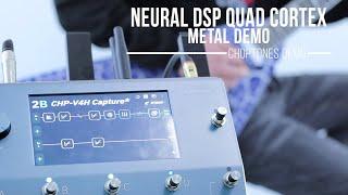 Neural DSP Quad Cortex | Metal Demo (ft. Jackson RR24 Lightning Crackle & Hotone Ampero Press)