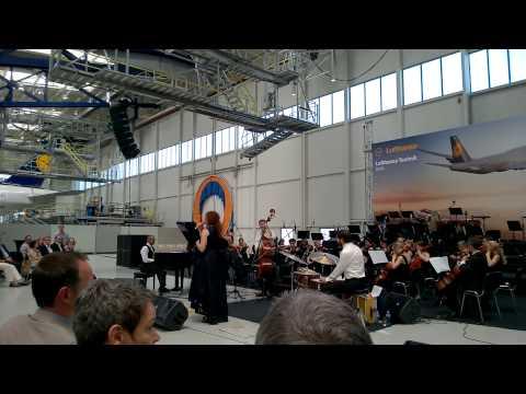 Белослава X JP3 X Lufthansa Orchestra - Между две луни @ Lufthansa technik