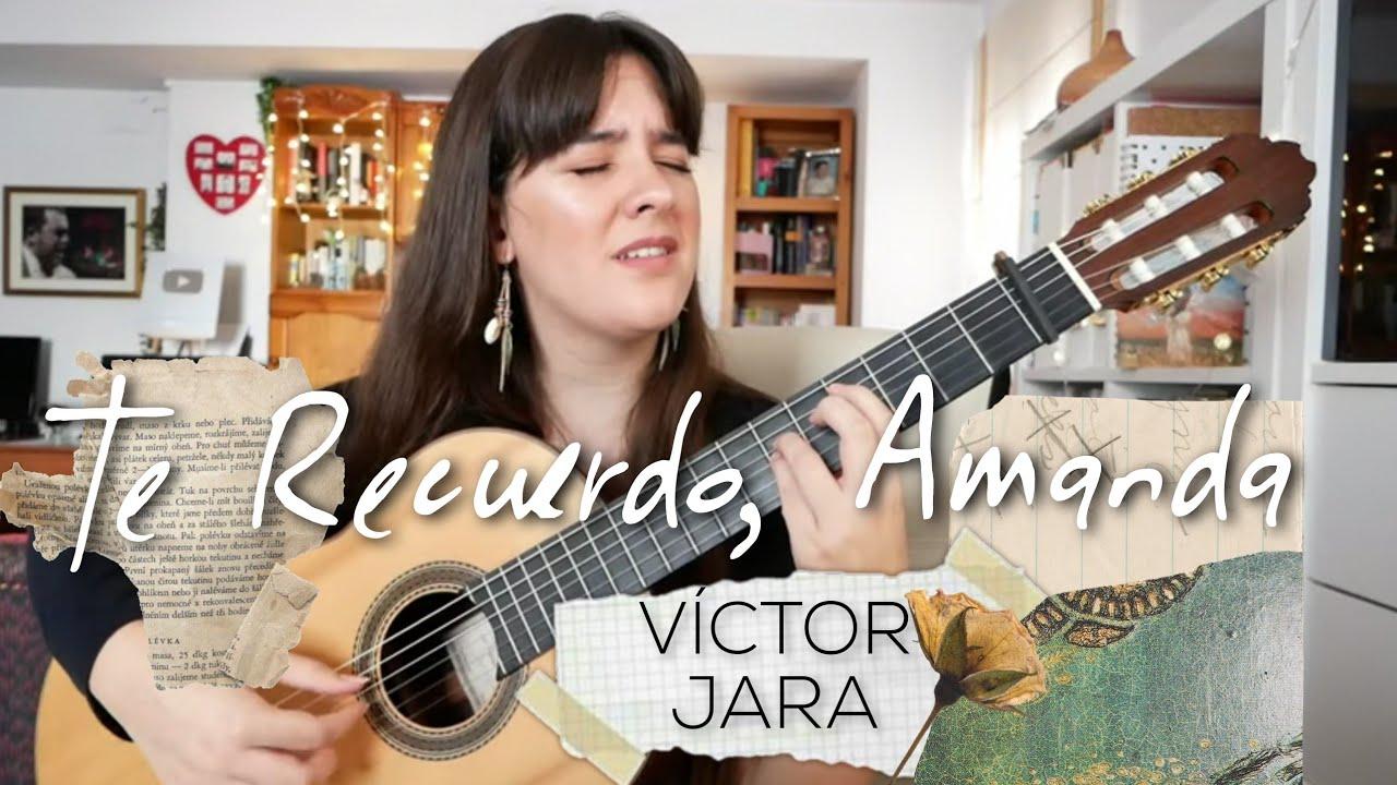 Te Recuerdo Amanda de Víctor Jara | Paola Hermosín