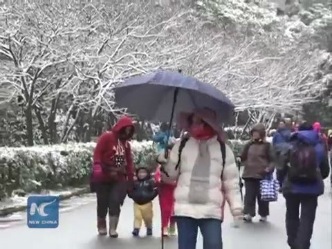 Worst cold spell in 10 years hits Taiwan