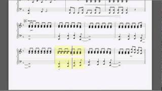 set fire to the rain piano accompaniment