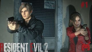 Let's Play Resident Evil 2 (PS4) Claire #1: Prologue