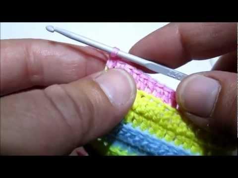 d.i.y tuto crochet la bride simple - youtube
