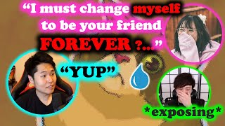 Disguised Toast - Lily must change herself to be my friend FOREVER | Sykkuno exposed Lily's habit