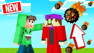 FIREBALLS Land On EVERYTHING You TOUCH! (Minecraft)