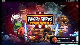 Jugando ANGRY BIRDS STAR WARS Nivel 1 al 5